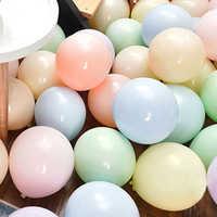 Grandes Globos redondos Pastel decoración de boda cumpleaños Baby Shower 1ª Globos macarrón decoración de arco decoraciones de fiesta