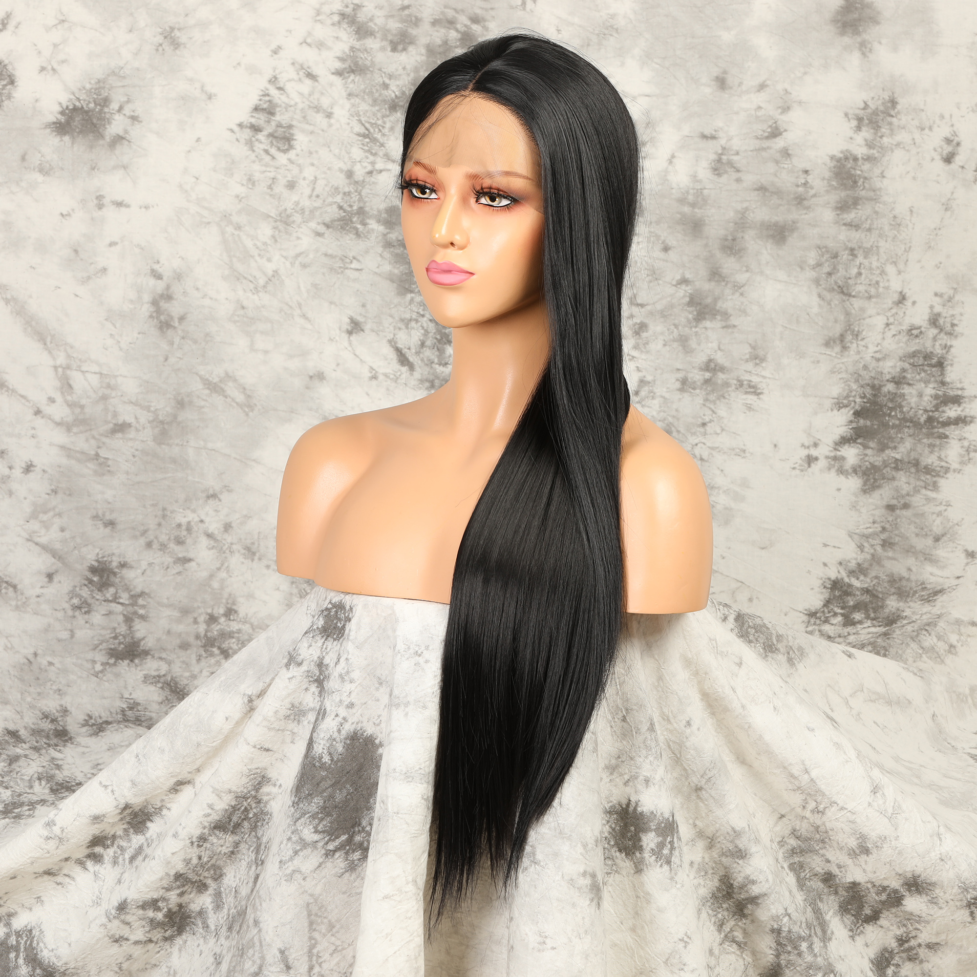 Synthetic Straight Lace Front Wig Hd Lace Wigs 13x4 Glueless Lace Front Wigs For Women