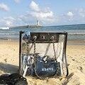 Ромбовидная прозрачная упаковка 2019 Весенняя и летняя новая женская сумка через плечо сумка на цепочке пляжная прозрачная упаковка