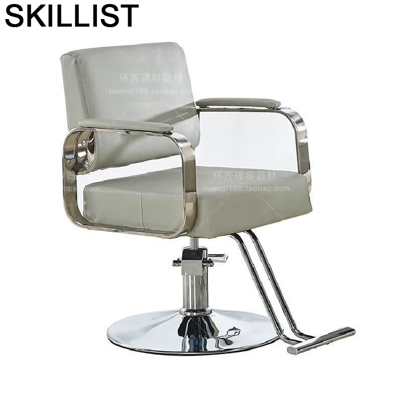 Barberia Makeup Stoel Cadeira Cabeleireiro Mueble De Belleza Hair Fauteuil Stuhl Beauty Shop Salon Silla Barbershop Barber Chair