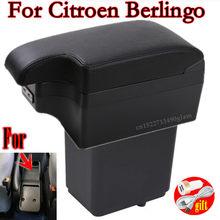 Reposabrazos para Citroen Berlingo, piezas de Reacondicionamiento para Peugeot Partner tepee Caja de almacenamiento para apoyabrazos de coche