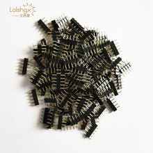 20/50/100/200pcs 5 pin Plug Male Connector 5PIN needle For RGBW / RGBWW Female SMD 5050 LED Strip RGB led light tape ribbon(China)