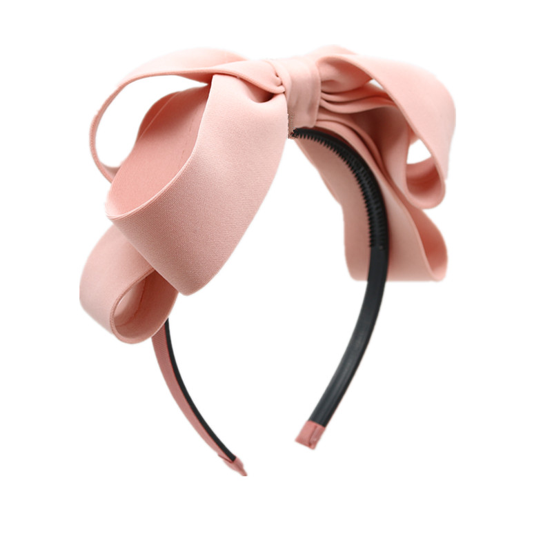 2020NEW Hair Bows Hair Bands For Women Hairband Girls Hair Accessories Party Mujer Bow Hairband Air Layer Knot Hair Hoop