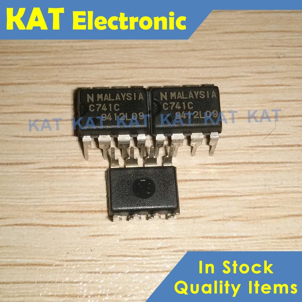 5PCS/Lot UPC741C C741C UPC741G2 741 UPC741 DIP-8 SOP-8 GENERAL PURPOSE OPERATIONAL AMPLIFIER