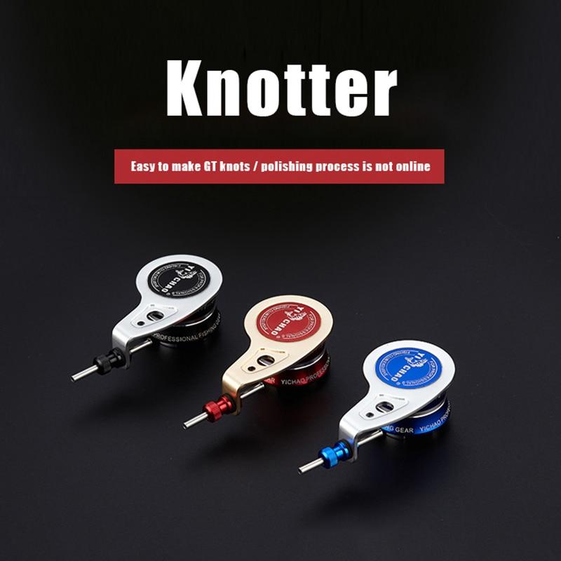New Knot Assist Knotting Machine PR Pr Fg Knot Machine Fishing Tool Winder Fishing Bobbin Knotter Fishing Tackle Bobbin Winder