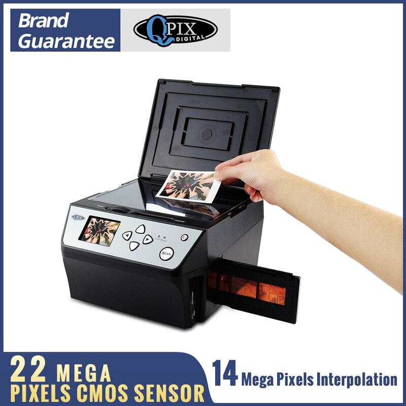 22 mégapixels 4 en 1 COMBO Photo et Scanner de Film numérique 135 convertisseur négatif Photo 35 mm Scanner de Film Scanner de carte de visite