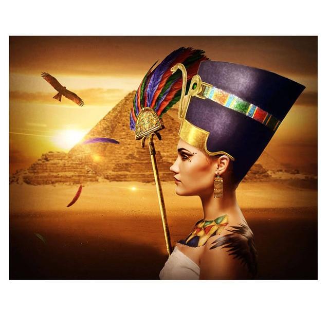 BRODERIE DIAMANT MONUMENT - EGYPTE