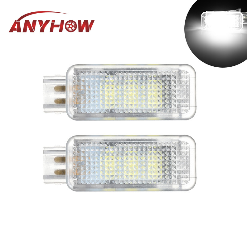 2pcs LED Car Interior lamp Seat <font><b>light</b></font> footwell <font><b>light</b></font> for <font><b>Audi</b></font> A2 <font><b>A3</b></font> S3 A4 B5 B6 B7 B8 RS4 A5 S5 A6 S6 C5 C6 A7 A8 Q5 Q7 TT TTS image