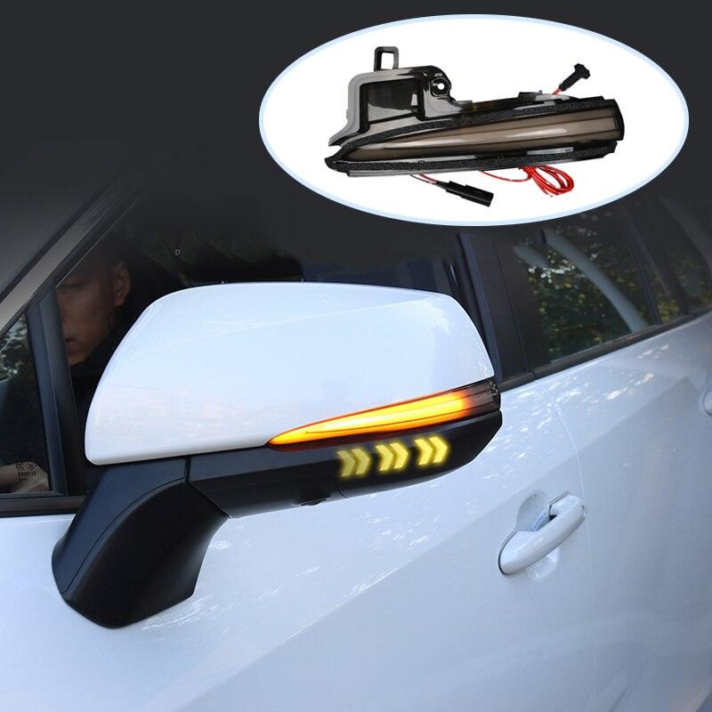 Signal Lampe Für Toyota RAV4 XA40 4RUNNER HIGHLANDER Auto Led-leuchten rückspiegel dynamische signal licht