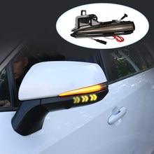 Lampka sygnalizacyjna dla Toyota RAV4 XA40 4runner HIGHLANDER samochodów Led światła lusterko wsteczne sygnałów dynamicznych światła