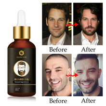 Beard Growth Oil Enhancer Natural Organic for Men Beard Growth Anti Hair Loss