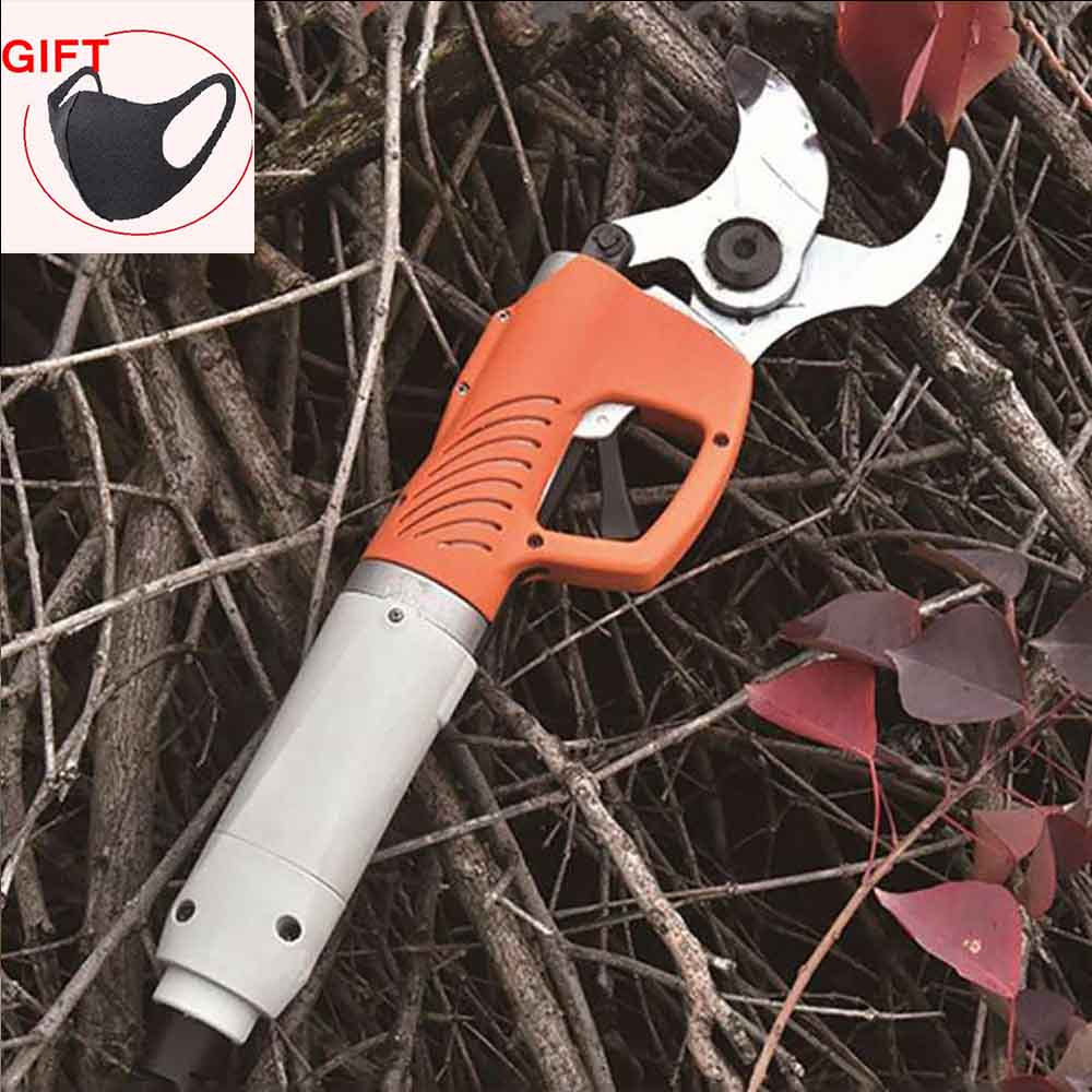450W Electric Shears Electric Pruner for Fruit Tree Garden Scissors 36V 4400mah Lithium Battery Electric Pruning Shear Orchard