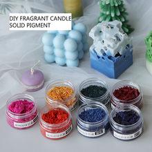 Pigment de bougie solide, Pigment de cire, 10g, chandelle parfumée, matériel de bricolage, fournitures de fabrication de bougies