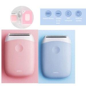Image 1 - SMATE 3in1 ミニ電気シェーバーポータブル防水 USB 充電式脱毛バリカン清潔で快適