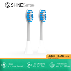 ShineSense Sonic Toothbrush Replacement Brush Heads for STB-100&200