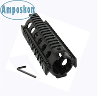 1Set Tactical Hunting Accessorie Black 20mm Aluminum High Quality Generalism RIS 6.7 inch Handguard Picatinny Weaver Rail System