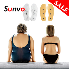 Slimming-Insoles Weight-Loss Shoe-Mat Health-Care-Pads Foot-Massager Magnetic-Therapy