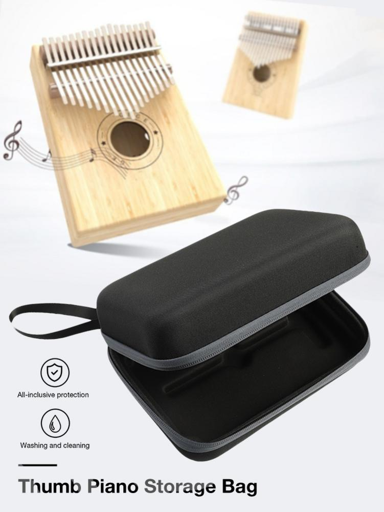 New 17/15/10 Keys Thumb Piano Storage Bag Carrying Case For Kalimba Mbira Sanza Handbag Musical Instrument Accessories