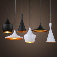 Işıklar ve Aydınlatma'ten Kolye ışıkları'de LED kolye ışıkları Modern endüstriyel asılı lamba Loft armatür Suspendu parlaklık Vintage süspansiyon armatür yemek odası için