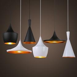 Wisiorek led światła nowoczesne przemysłowe lampy wiszące Loft oprawa Suspendu Lustre Vintage zawieszenie oprawa do jadalni w Wiszące lampki od Lampy i oświetlenie na