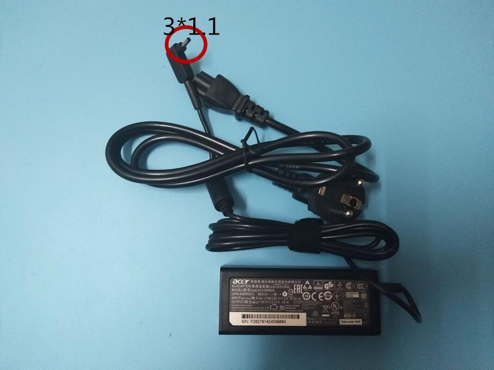 19V 2.37A 45W AC Adapter Charger Power Supply For Acer Aspire PA-1450-26 3.0*1.1