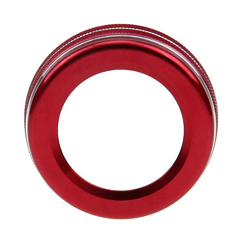 1PC stopu aluminium przycisk głośności obudowa na pokrętło dla mercedes-benz GLE W246 W212 W166