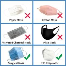 10pcs/lot PM 2.5 KN95 N95 Mask CE Cerfication mascarillas mascherine ffp3 Breathable Mouse Mask anti Polution Filter dust masks