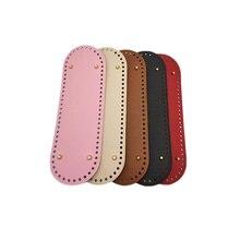 30x10cm Leather Bag Bottoms DIY Handmade Oval Long Bottom Bag Accessories for Knitting Bags handbag Crossbody Bags Bottom