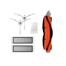 Cepillo Lateral filtro HEPA Filtro de accesorios principales para xiaomi mijia mi 1 2 roborock s50 s51 S55 s6 S5 robot repuestos de aspiradora