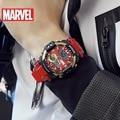 4000507494002 - Reloj de pulsera de pantalla Dual Digital de estilo Iron Man personalidad tendencia resistente al agua deportes reloj para pareja regalo para hombres 20Bar