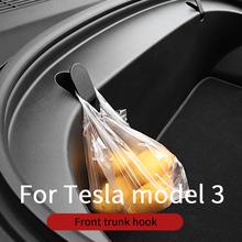 Front trunk hook Tesla model 3 accessories car tesla model 3 accessories model 3 tesla three tesla model 3 model3 cheap NoEnName_Null Door Interior