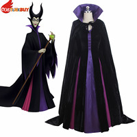 Costumebuy Maleficent Costume Evil Queen Cosplay Dress Outfit Ladies Fancy Dress Women Halloween Party Costume Custom Made