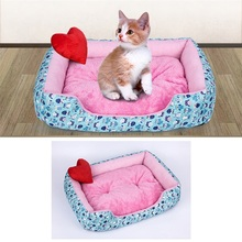 1PCS Warm Winter Cat Dog Mats Puppy Bed Pet House Nest Soft Sleeping Mat For Small