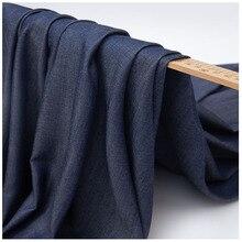 Tencel denim clothing fabric high-end summer soft silk shirt skirt solid color rayon silk 002