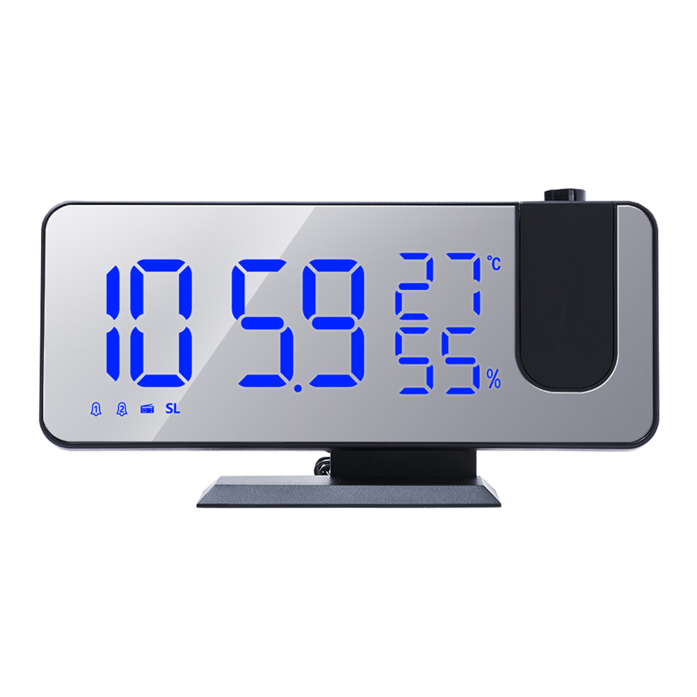 1 комплект из светодиодный Экран проекционные часы Прогноз погоды часы Термогигрометр