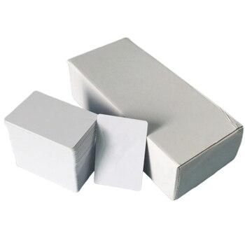 200Pcs Glänzend Inkjet Druckbare PVC Weiße Karte für Epson R280 R290 R330 R390 A50 P50 L800 L801 Canon IP4600 4700-in 3D Druckerteile & Zubehör aus Computer und Büro bei