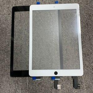 """Image 2 - 10 قطعة لباد 6 لباد الهواء 2 2nd الجنرال A1566 A1567 9.7 """"شاشة تعمل باللمس محول الأرقام LCD لوحة الخارجي الاستشعار استبدال جزء"""