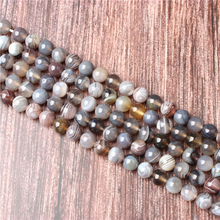Hot Sale Natural Stone Persian Gulf Agate Beads 15.5 Pick Size: 4 6 8 10 mm fit Diy Charms Beads Jewelry Making Accessories