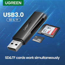Ugreen Card Reader USB 3.0 2.0 to SD Micro SD TF Memory Card Adapter for Laptop Accessories Multi Smart Cardreader Card Reader