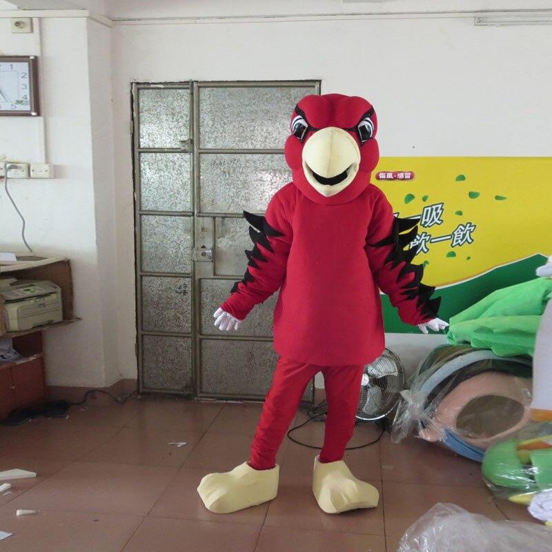 Costume de mascotte aigle chauve cosplay