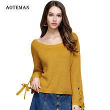 Women Sweater Solid Long