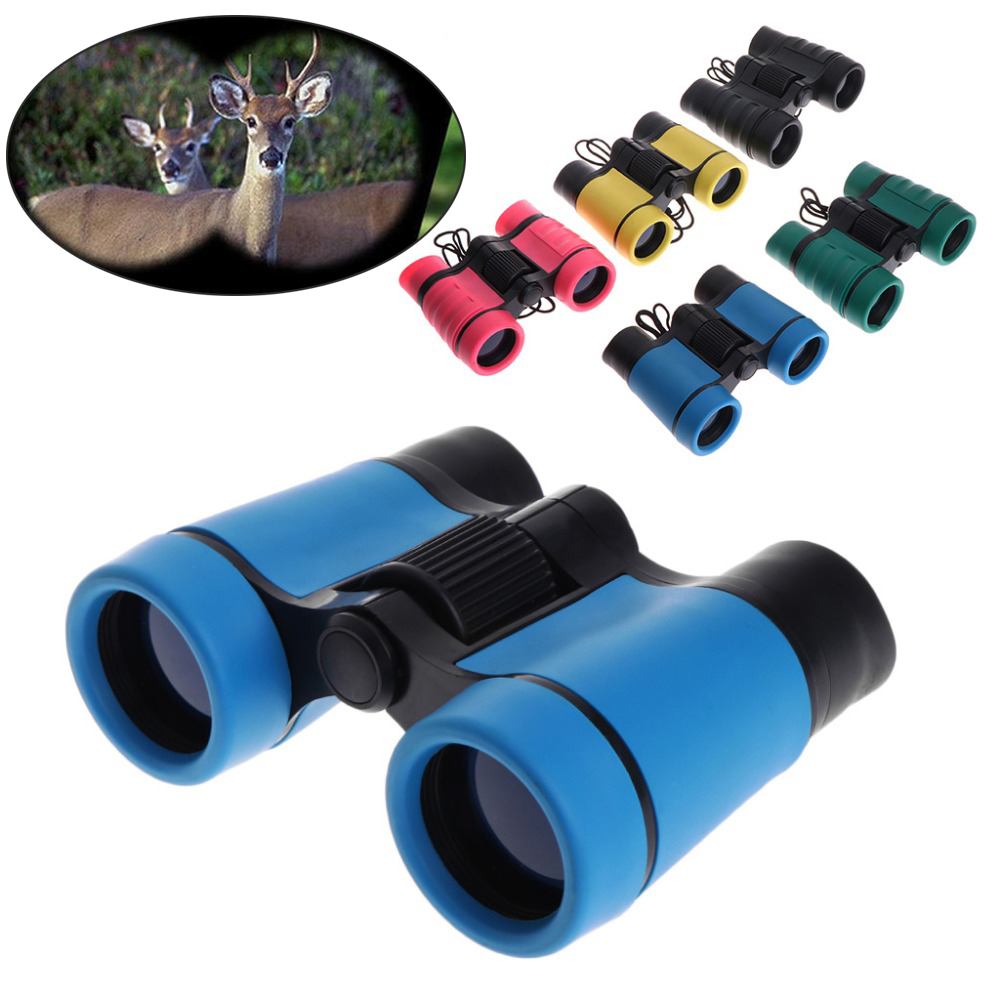 HobbyLane 4x30 Plastic Children Binoculars Telescope Maginification For Kids Outdoor Games Boys Toys Gift 2