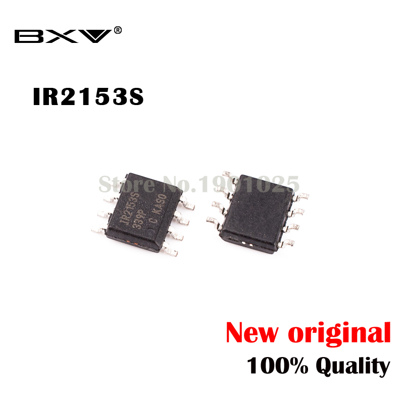 10pcs/lot IR2153S IR2153STRPBF SOP-8  IR2153STR IR2153 SOP New Original Free Shipping