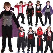 Ücretsiz kargo cadılar bayramı Purim tatil karnaval parti yarasa vampir kostümleri oğlan kız için kısa Fantasia Infantil Cosplay kostüm