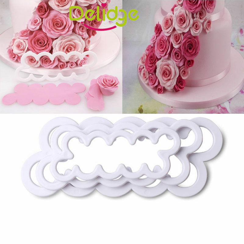 3D Brand Squirrel Tree Stump Cake Decoration Sugarcraft Baking Mould SL