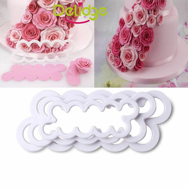 3D Brand Squirrel Tree Stump Cake Decoration Sugarcraft Baking Mould SL