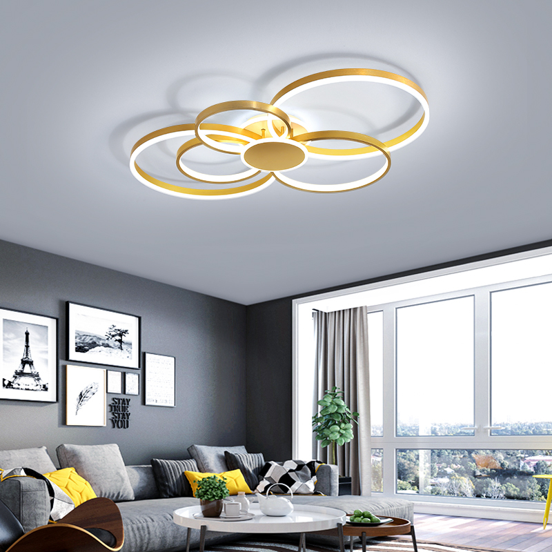 Modern Led Ceiling Lights Aluminum+ Acrylic Ceiling Lamp for Bedroom Dining Room Living Room Surface Mounted led ceiling light