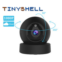1080P 2MP Dome Mini Ip Kamera G43S Kamera Keamanan Nirkabel Wifi PTZ Cam IR Malam Home Surveilans Kamera Bayi monitor(China)