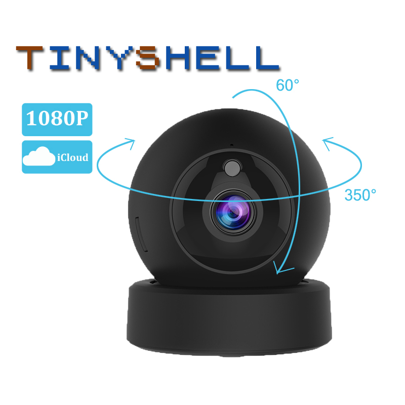 1080P 2MP Dome Mini IP Camera G43S Wireless Wifi Security Camera PTZ Cam IR Night Home Surveillance Camera Baby Monitor