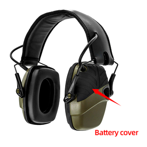 Image 4 - Foldable green electronic shooting earmuffs outdoor sports anti noise sound amplification hearing protection headphones